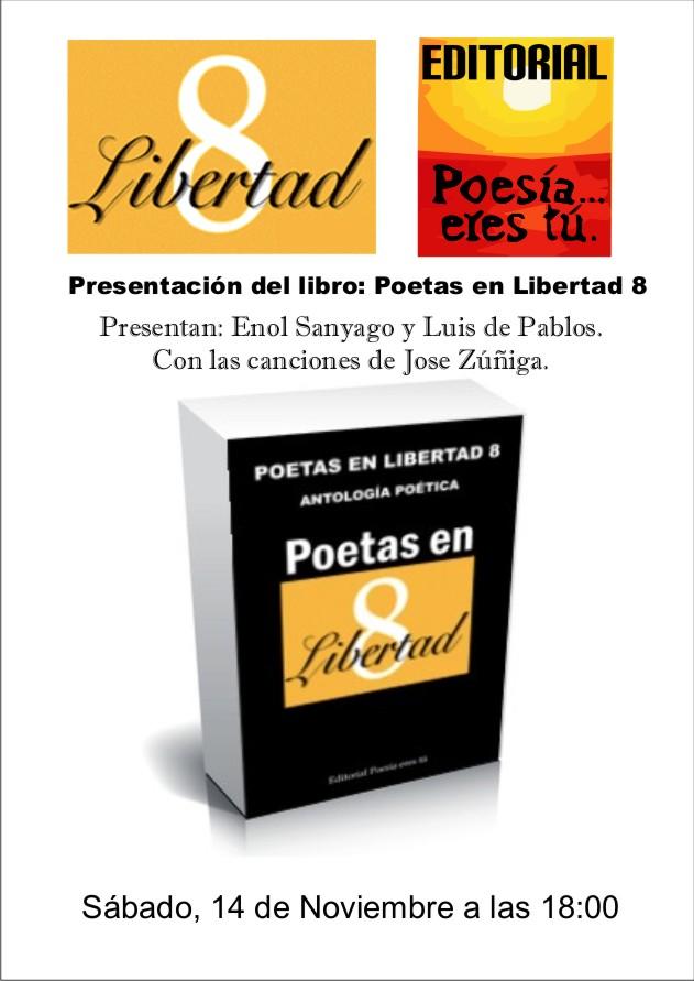cartelpresentación Presentación: Poetas en Libertad 8 - cartelpresentaci  n1 - Presentación: Poetas en Libertad 8