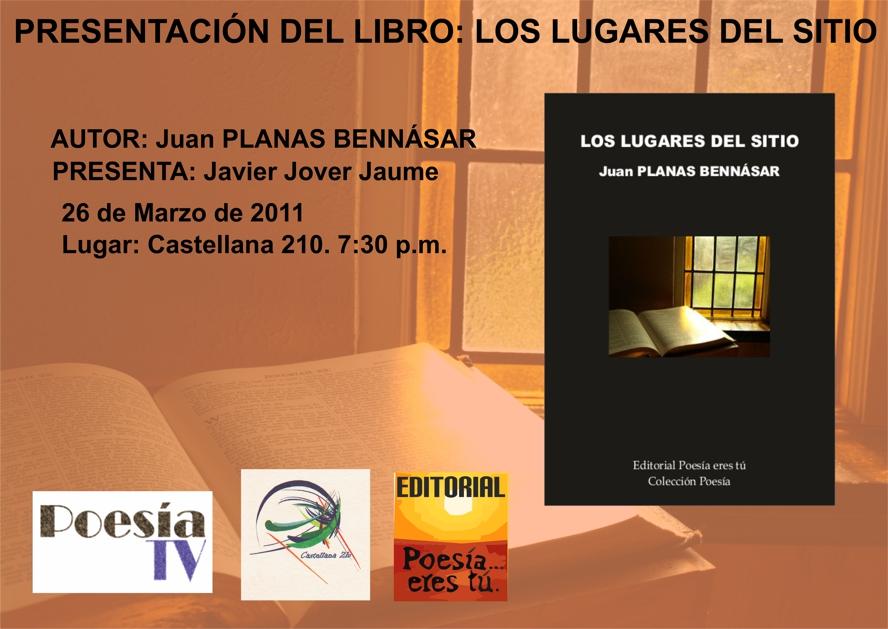Presentación Los lugares del sitio - Juan Planas Benasar - Presentacionloslugaresdelsitio - Presentación Los lugares del sitio – Juan Planas Benasar