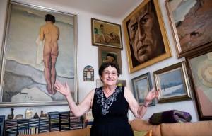 """Francisca Aguirre: """"Cada libro debe tener el lenguaje que le corresponde"""" Francisca Aguirre: """"Cada libro debe tener el lenguaje que le corresponde"""" Francisca Aguirre 46 300x192"""