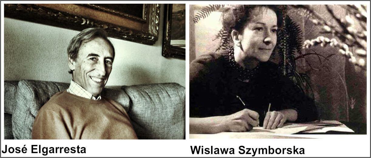 José Elgarresta y Wilslawa Szymbroska premiados al mejor libro del año 2011 por la Asociación de Editores de Poesía José Elgarresta y Wilslawa Szymbroska premiados al mejor libro del año 2011 por la Asociación de Editores de Poesía premiadosaep2011