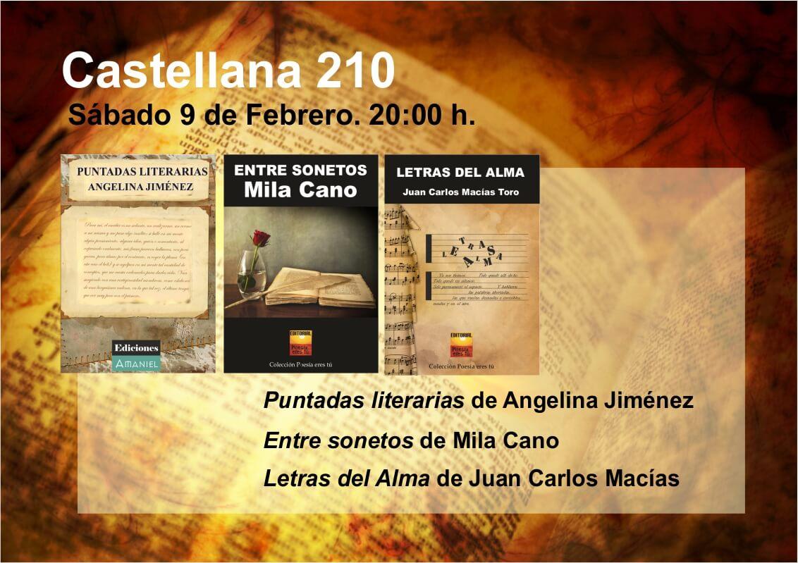 Castellana 210 Sabado 9 de Febrero 20:00 Castellana 210 Sabado 9 de Febrero 20:00 Entintados9deFebrero2013