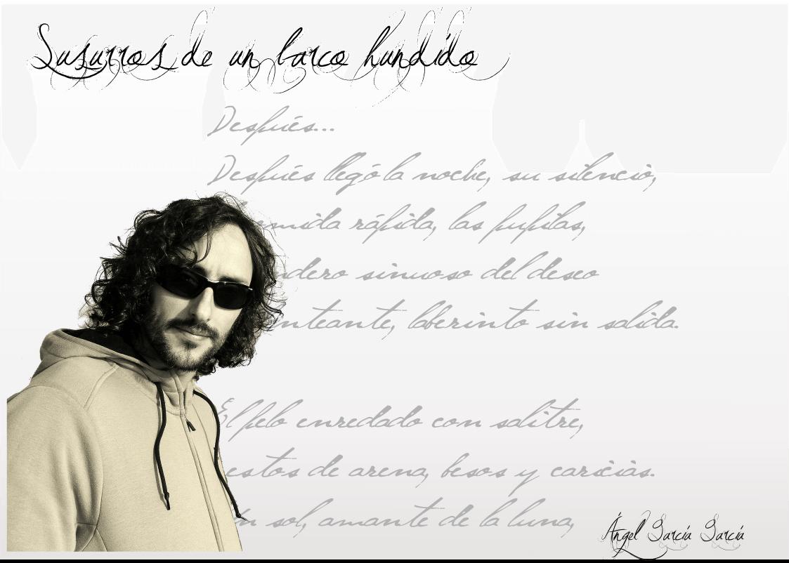 """FichaAngelGarcía Poesía, entrevista - FichaAngelGarc  a - Ángel García García: """" Ha sido la poesía la que me ha encontrado a mí""""."""