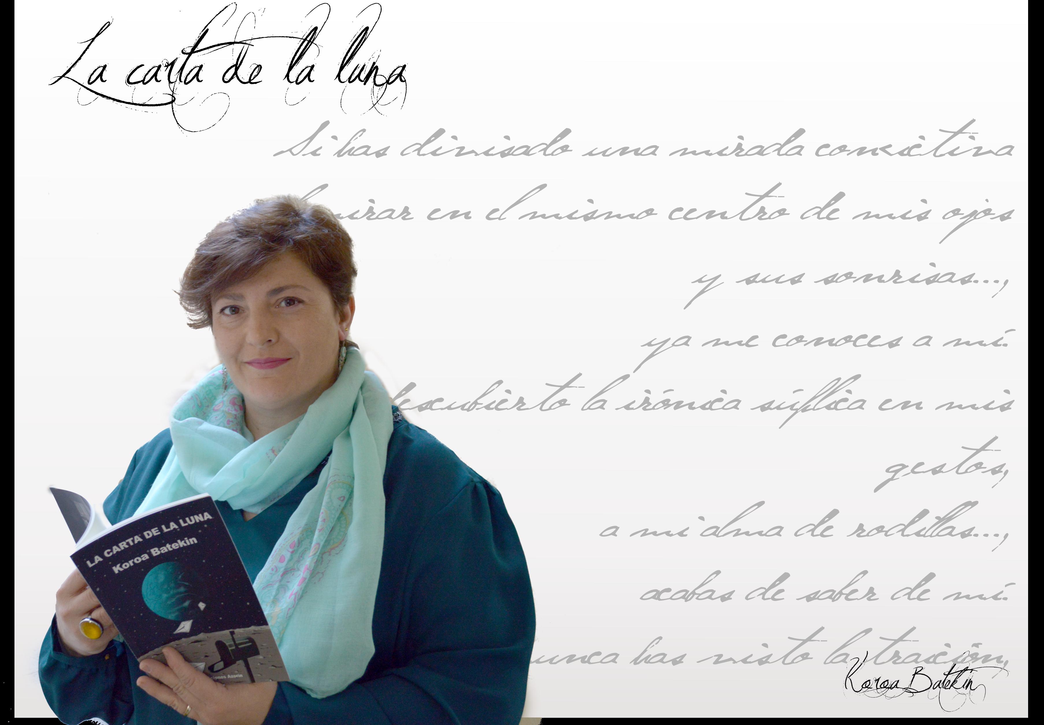 """koroa batekin - koroabatekinrevistapoesiaerestu - Koroa Batekin: """"Nunca he dejado de escribir. He compaginado siempre las letra con el trabajo, los estudios y la maternidad""""."""