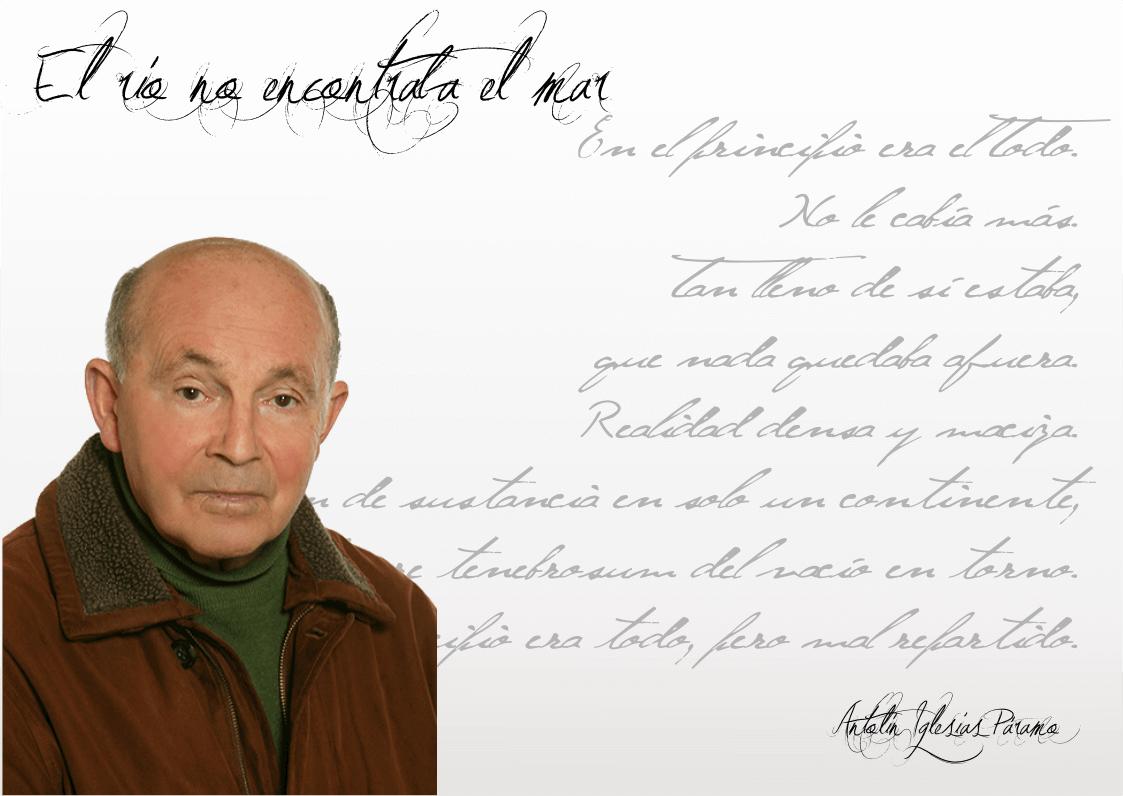 """Antolín Iglesias: """"La poesía es una manera distinta de mirar el mundo"""" Antolín Iglesias: """"La poesía es una manera distinta de mirar el mundo"""" FichaAntolin3"""