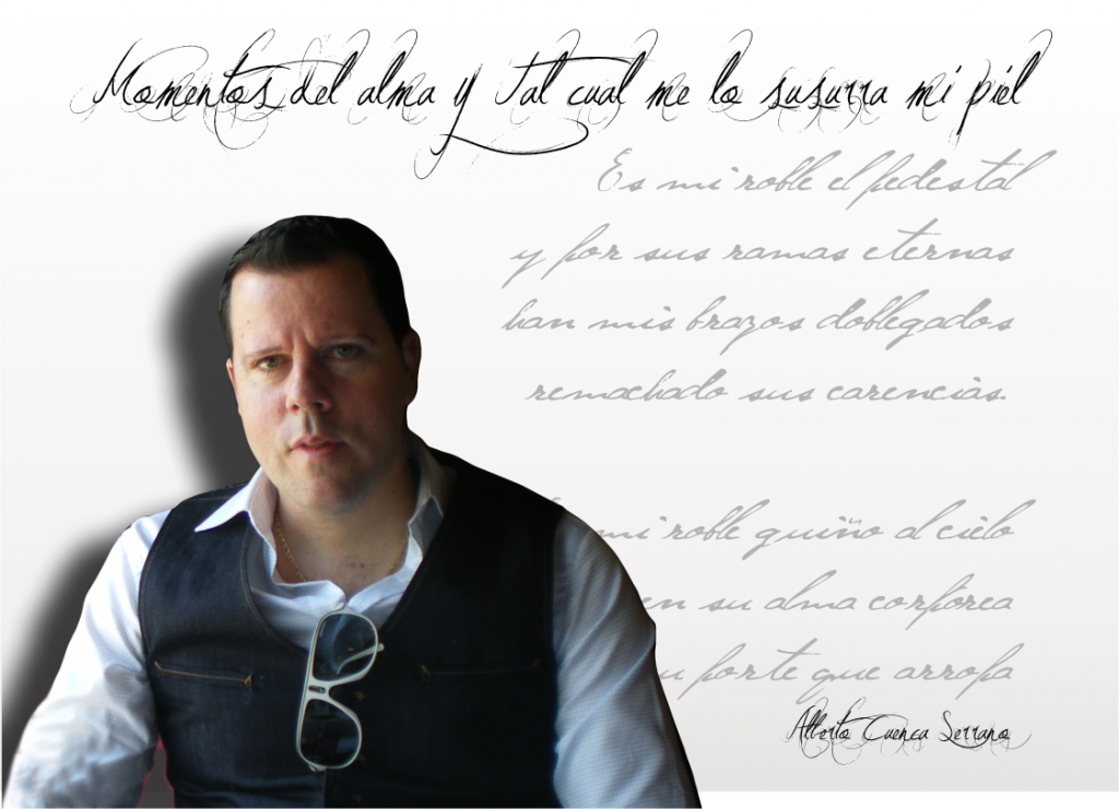 """Alberto Cuenca Serrano Alberto Cuenca Serrano - FichaAlbertocuenca 1024x741 - Alberto Cuenca Serrano: """"La poesía es la única capaz de desarmar cualquier futuro que no sea capaz de rendirse ante su belleza"""""""
