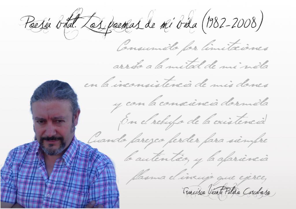 """Poesía vital de Francisco Pulido Francisco Pulido - FichaAutor 1024x726 - Francisco Pulido: """"La poesía es el hombre mismo conociendo su propia esencia""""."""