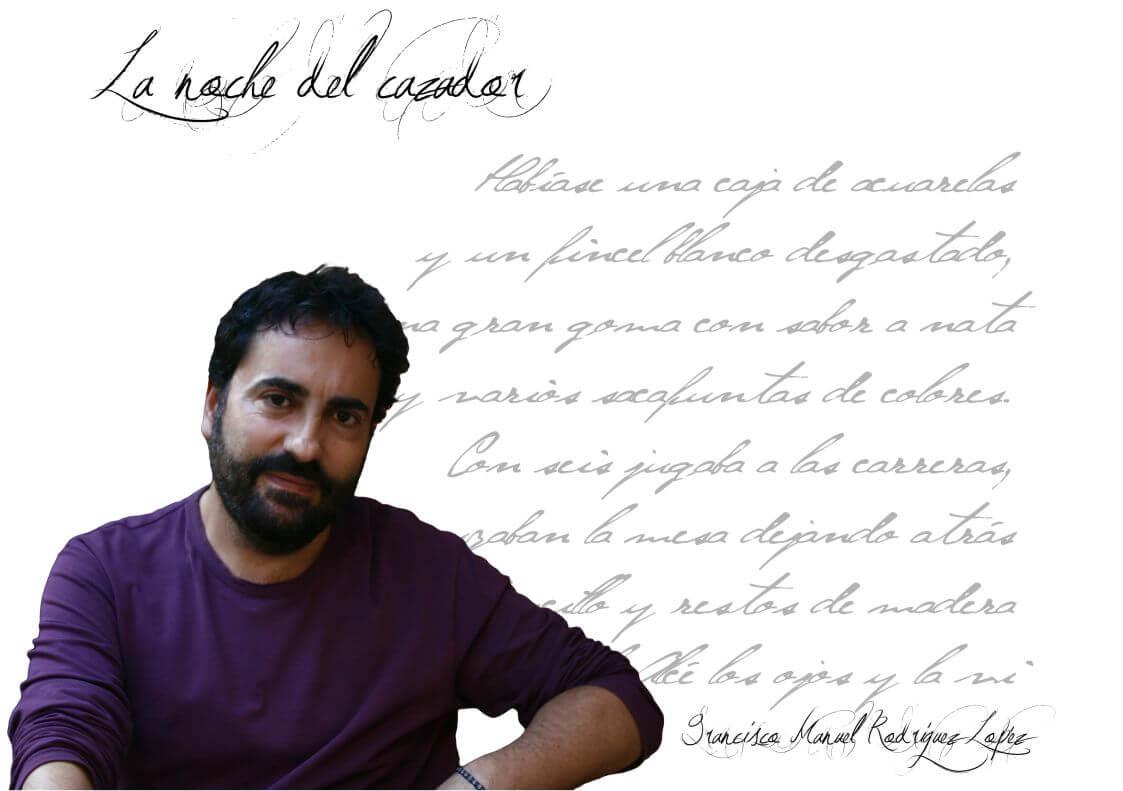 """Photo ofFrancisco Manuel Rodriguez  Francisco Manuel Rodriguez: """"La poesía, al menos la que practico, está a medio camino entre la realidad como referente y la autorreferencia literaria"""" FIchaFmanuelRodriguezr"""
