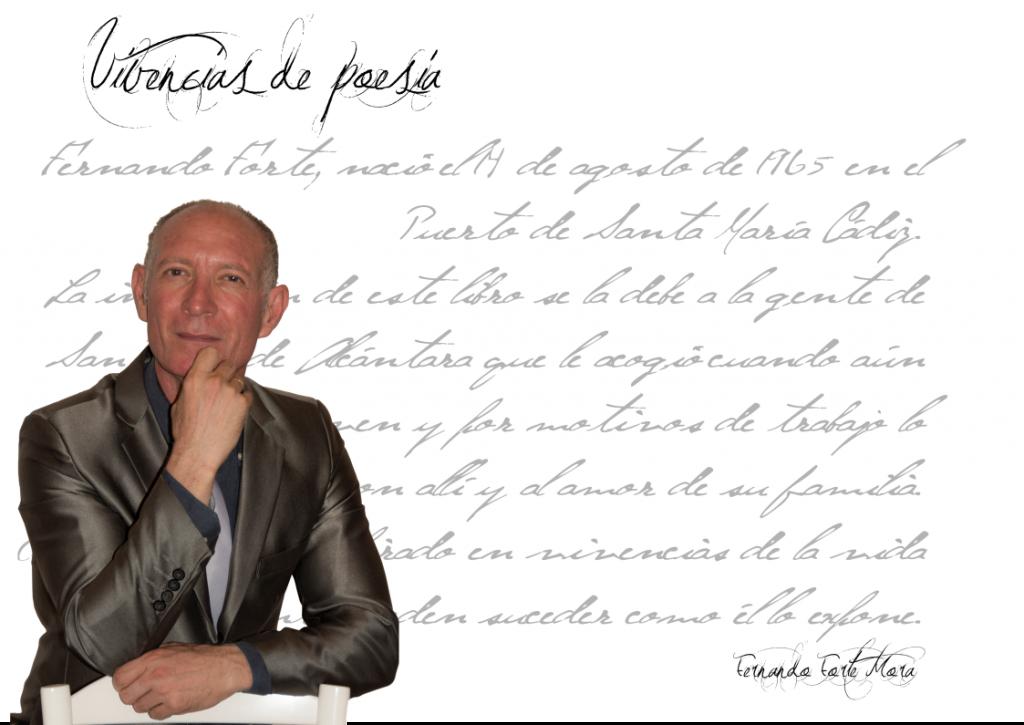 """VIVENCIAS DE POESÍA - FERNANDO FORTE MORA fernando forte mora - FicahFernandoForteMora 1024x725 - Fernando Forte Mora: """"La poesía ni tiene edad ni tiene lugar"""""""