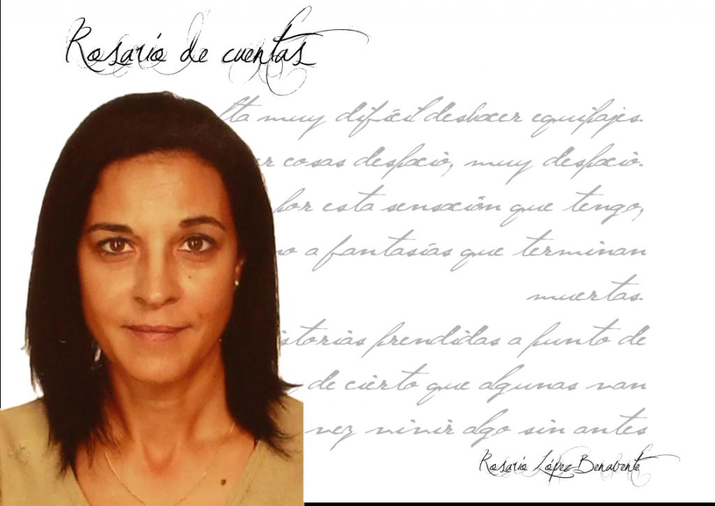 """Entrevista Rosario López Benavente rosario lópez benavente Rosario López Benavente: """"Escribir es una necesidad y un inmenso placer, tanto… que a veces me tiemblan las manos"""". FichaRosarioLopezBenavente 1024x725"""