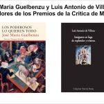 Premio de la críitica 2016 crítica de madrid José María Guelbenzu y Luis Antonio de Villena ganadores de los Premios de la Crítica de Madrid 2016 Premiodelacritica2016 150x150