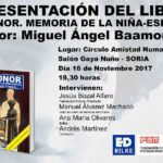 Presentación en Soria: Leonor. Memoria de la niña esposa. CartelPresentaci  nWeb 150x150