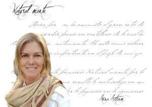 """Entrevista Anna Astrom anna astrom Anna Astrom: """"Para mí el pintar y el escribir son dos formas distintas, pero a la vez tan parecidas, de expresar con sensibilidad sentimientos…"""" FichaAutor Anna Astrom 300x211"""
