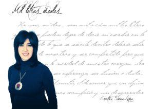 """Entrevista a Crisitina Gimenez Lopez cristina giménez lópez Cristina Giménez López: """"Una letra más otra son lo que decimos y lo que somos"""". FichaAutorCrisitinaGimenezLopez 300x212"""