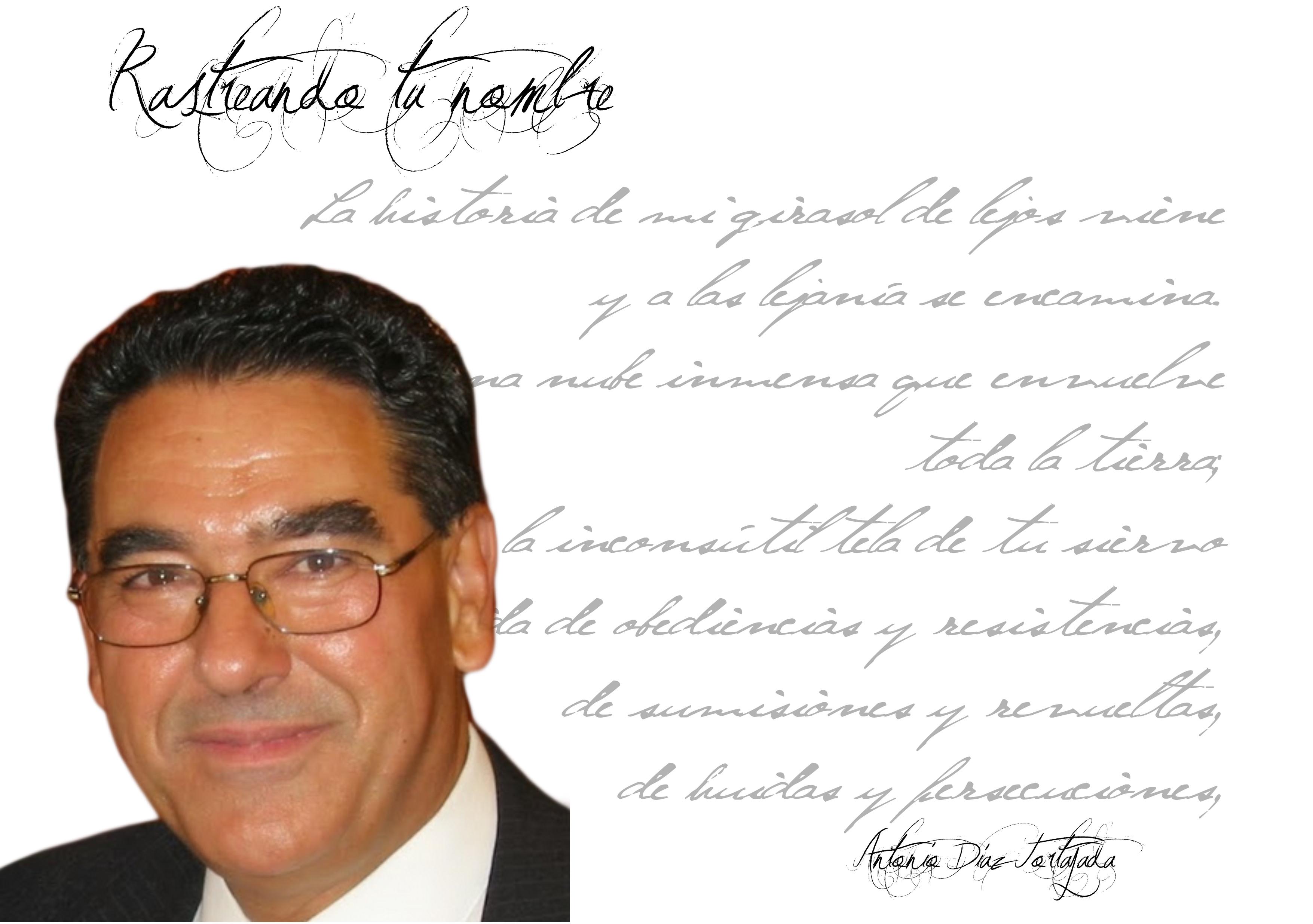 """Photo ofANTONIO DÍAZ TORTAJADA antonio díaz tortajada - Antoniodiaztortajada - Antonio Díaz Tortajada: """"La poesía mística no pasa nunca, y hoy en día tiene una vigente actualidad o un perfil más acentuado."""""""