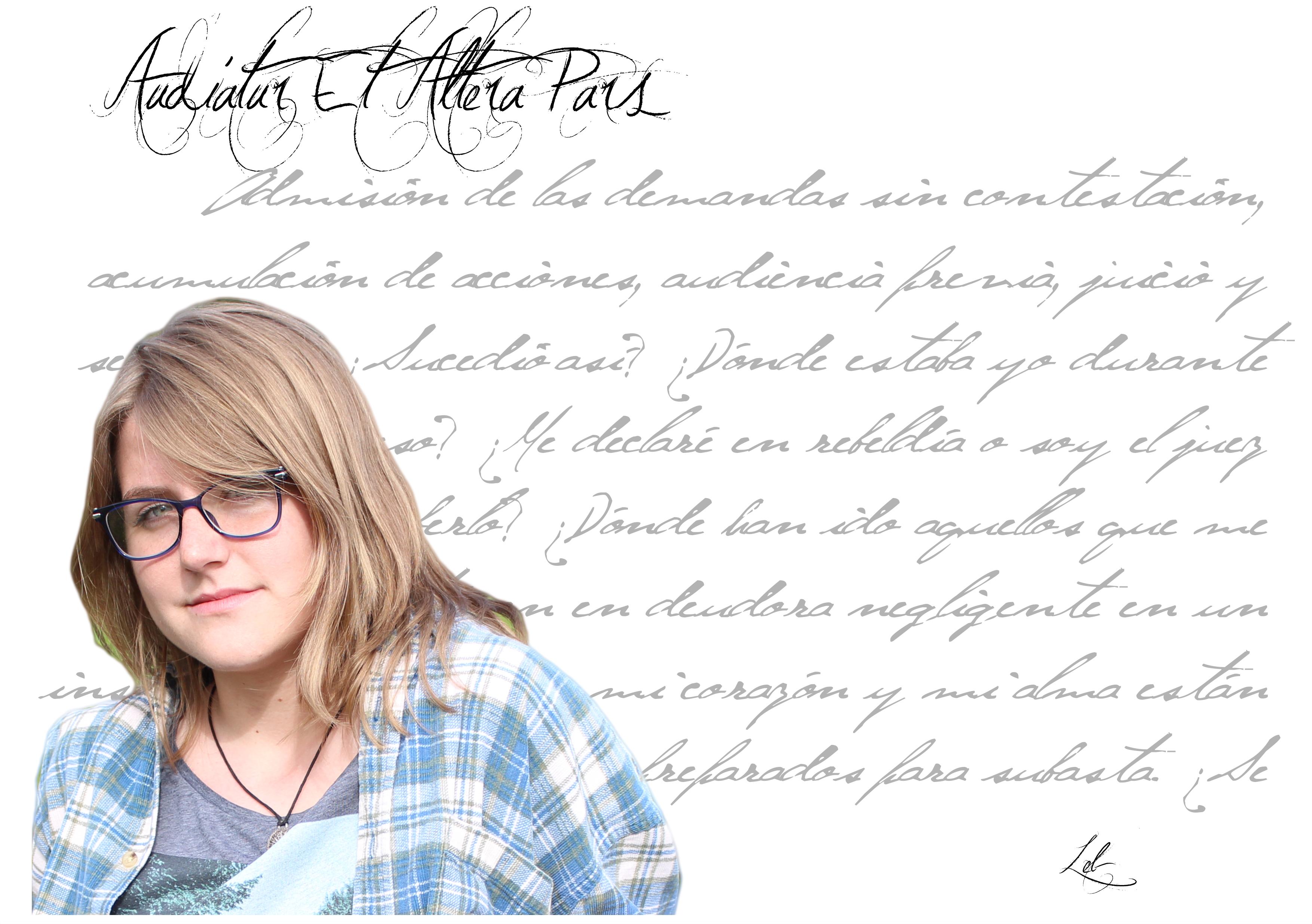 """Marta Paricio Montesinos leb - FichaAutor 1 - LEB: """"La poesía permite darle voz a aquello que por el motivo que sea callaste y te arde por dentro""""."""