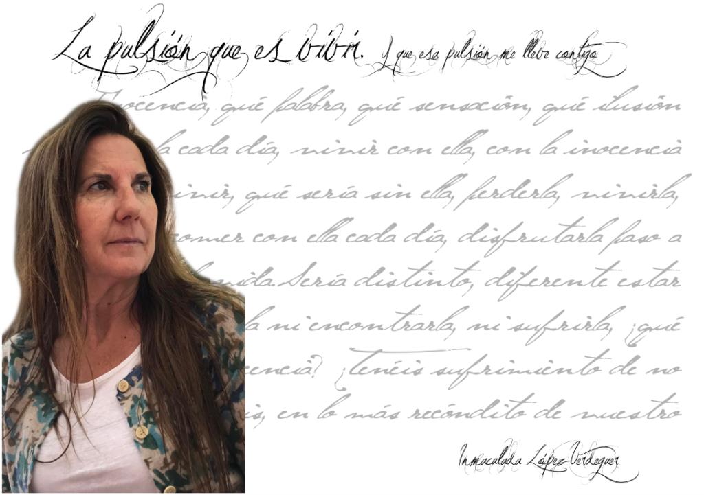 """inmaculada lópez verdeguer - FichaAutor Mediano 1024x721 - Inmaculada López Verdeguer: """"Lo más maravilloso es poder elegir y tener ese discernimiento de lo que queremos en cada instante de nuestra vida.""""  - FichaAutor Mediano 1024x721 - Artículos"""