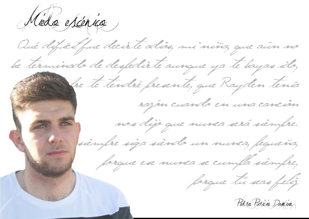 """pedro paricio damian - FichaAutor 1024x726 - Pedro Paricio Damian: """"El amor es lugar común para toda persona que escribe poesía"""""""