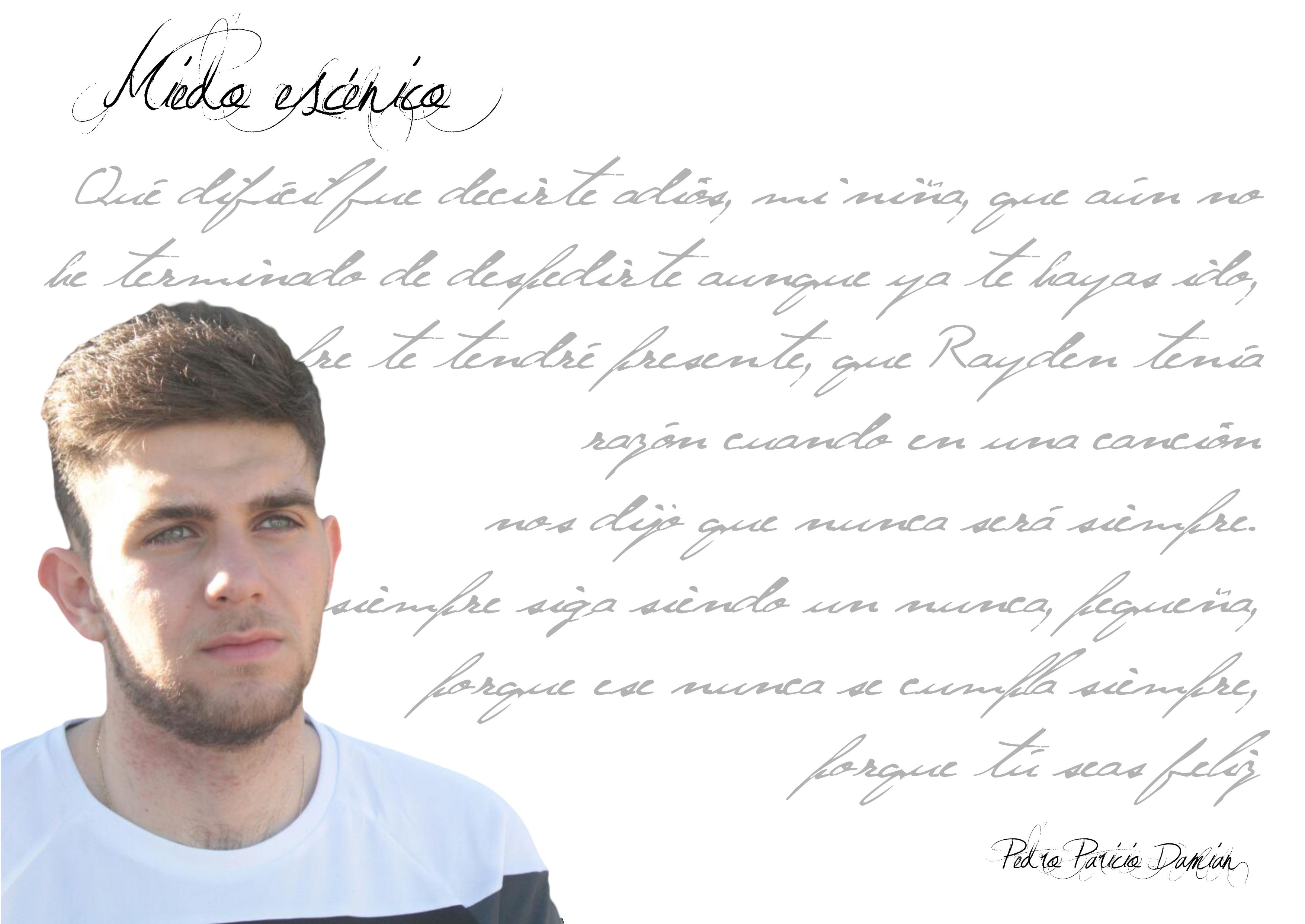 """Entrevista a Pedro Paricio Damian pedro paricio damian - FichaAutor - Pedro Paricio Damian: """"El amor es lugar común para toda persona que escribe poesía"""""""