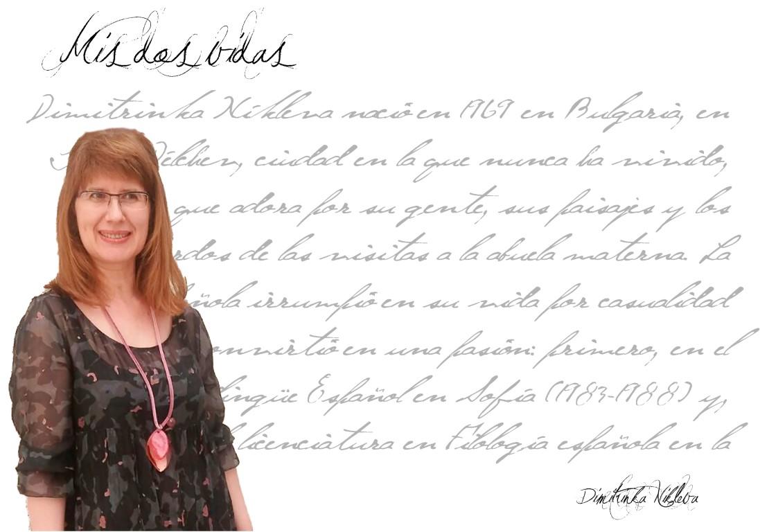 """mis dos vidas - FichaAutor Mediano - Dimitrinka Níkleva:  """"Todos necesitamos lo mismo para ser felices: amor"""""""