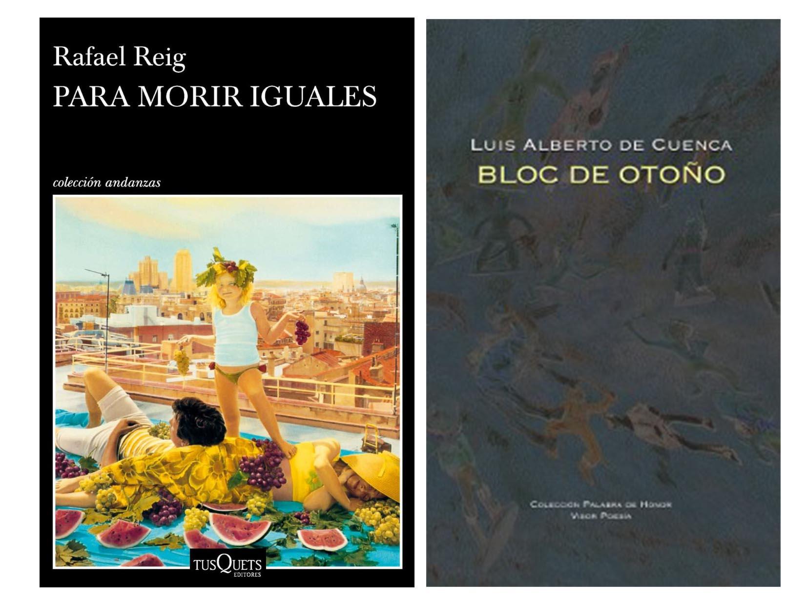 - PremioCritica2018s - Rafael Reig y Luis Alberto de Cuenca ganadores de los premios de la Crítica de Madrid 2018