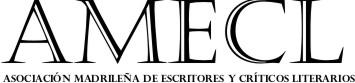 Asociación madrileña de escritores y críticos literarios  - logoamecl - Rafael Reig y Luis Alberto de Cuenca ganadores de los premios de la Crítica de Madrid 2018