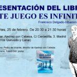 - AjedrezConCabeza 150x150 - DOS OCASIONES PARA CONOCER EL LIBRO: ESTE JUEGO ES INFINITO