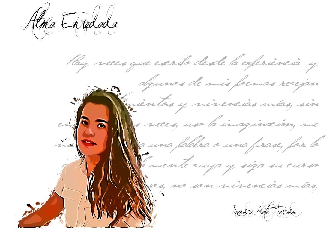 """Photo ofSandra Mata Garrido sandra mata - FichaAutor Medium - Sandra Mata: """"he querido apostar por algo diferente que no es lo común a lo que estamos acostumbrados a ver hoy en día en poesía"""""""