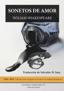 Sonetos de amor de William Shakespeare