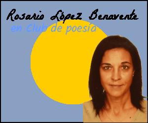 Rosario López en club de poesía