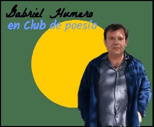 Gabriel Humero en Club de poesía