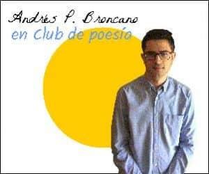 Andres P. Broncano en Club de poesía