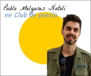 Pablo Melgares en club de poesia