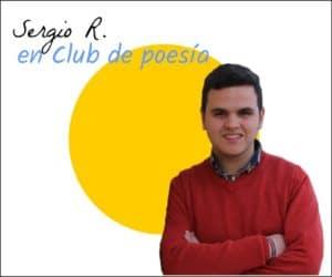 Sergio R. en club de poesía