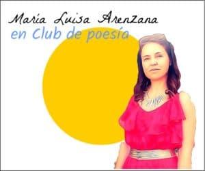 María Luisa Arenzana en club de poesía