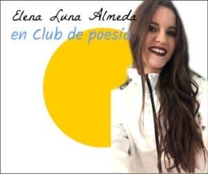 Elena Luna Almeda en club de poesia