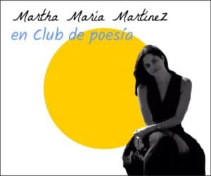 Martha M Martinez en club de poesía