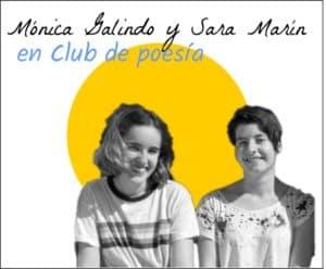 Mónica y Sara en club de poesía
