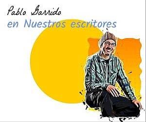 Pablo Garrido. Escritor.